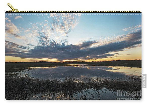 Pond And Sky Reflection2 Carry-all Pouch