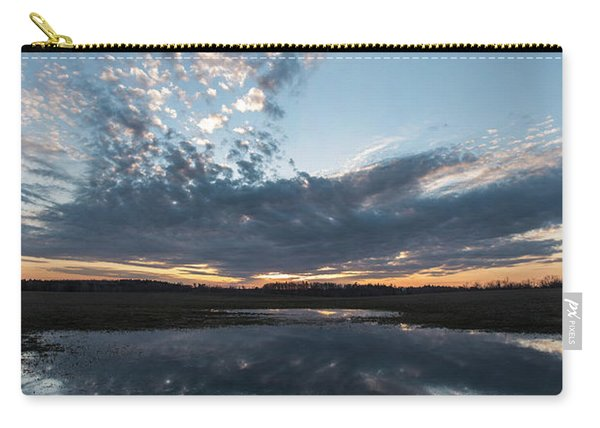 Pond And Sky Reflection3 Carry-all Pouch