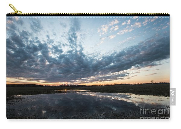 Pond And Sky Reflection4 Carry-all Pouch