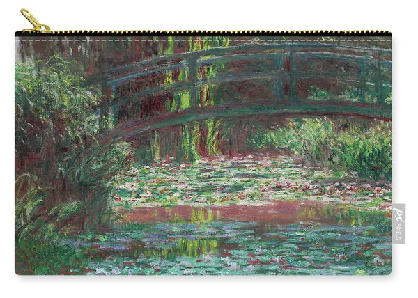 The Bridge Over The Waterlily Pond 1900 Carry-all Pouch