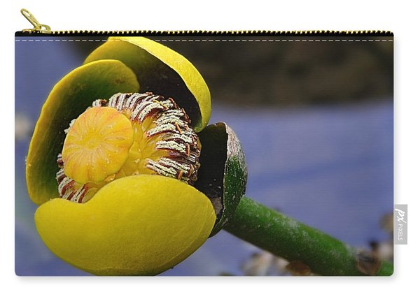 Pond Lily In Bloom Carry-all Pouch
