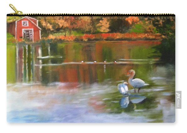 Pond Reflections Carry-all Pouch