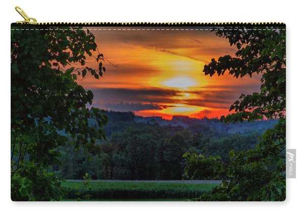 Pond Sunset  Carry-all Pouch