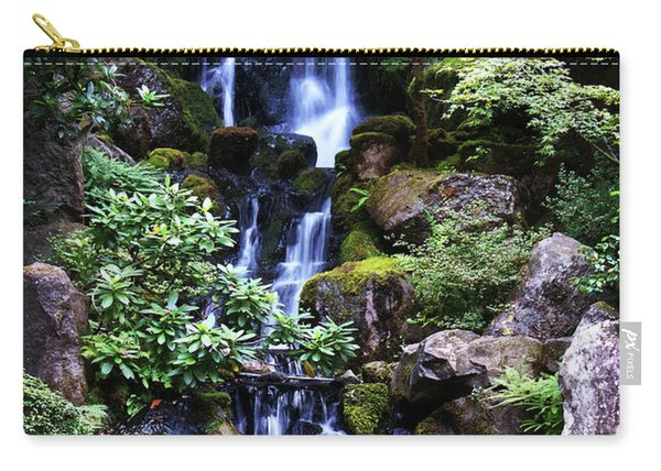 Pond Waterfall Carry-all Pouch