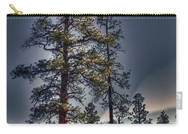 Ponderosa Pines At The Bonito Lava Flow Carry-all Pouch