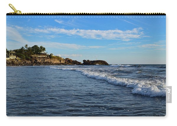 Poneloya Beach Before Sunset Carry-all Pouch