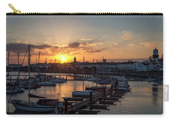 Ponta Delgada Sunset Carry-all Pouch