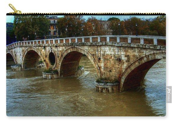 Ponte Sisto Bridge Rome Carry-all Pouch