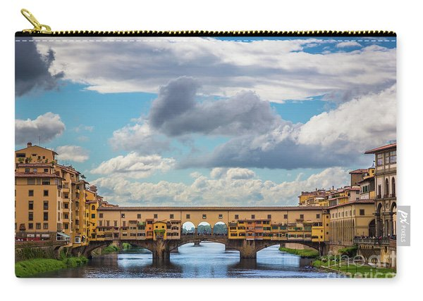 Ponte Vecchio Clouds Carry-all Pouch