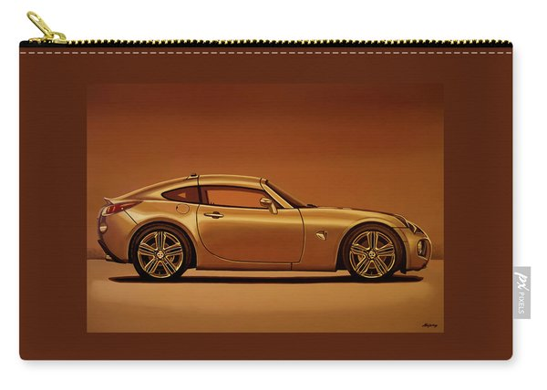 Pontiac Solstice Coupe 2009 Painting Carry-all Pouch