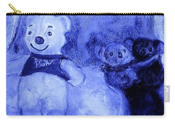 Pooh Bear And Friends Carry-all Pouch