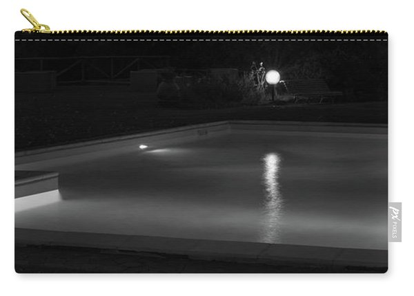 Pool At Night 2 Carry-all Pouch