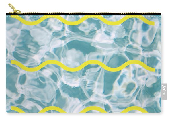 Pool Lines Carry-all Pouch
