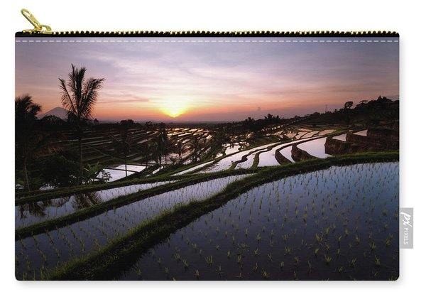 Pools Of Rice Carry-all Pouch