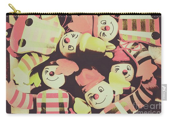 Pop Art Clown Circus Carry-all Pouch