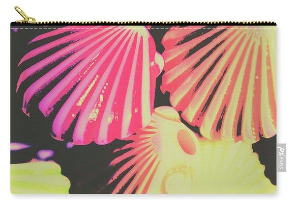 Pop Art From Fluorescent Beach Carry-all Pouch