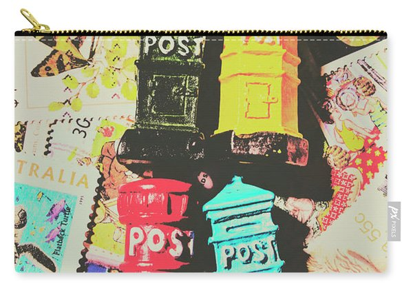 Pop Art In Post Carry-all Pouch