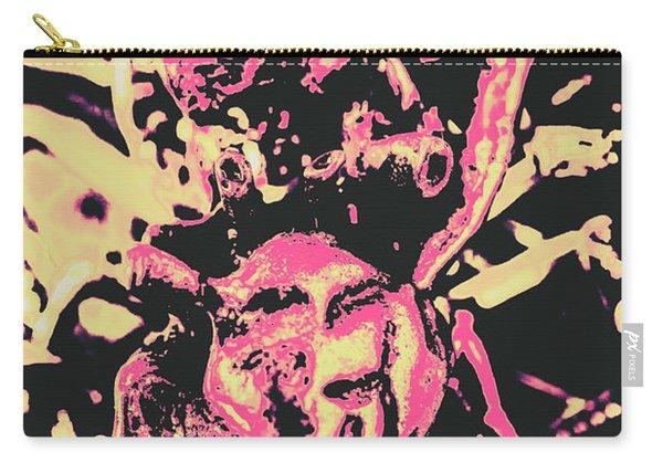 Pop Art Poster Heart Carry-all Pouch