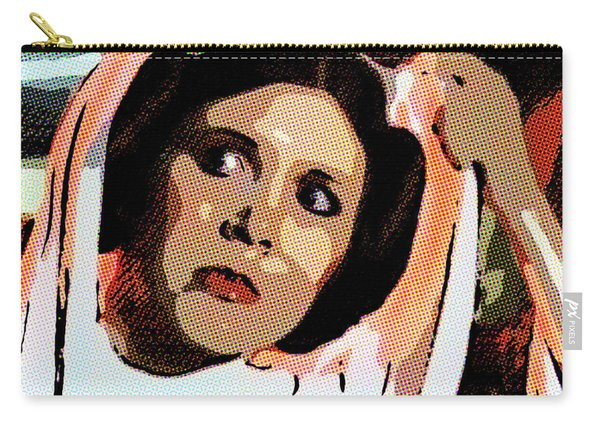 Pop Art Princess Leia Organa Carry-all Pouch