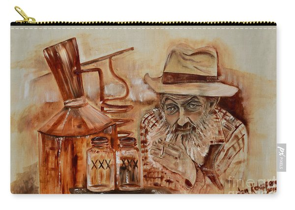 Popcorn Sutton - Waiting On Shine Carry-all Pouch