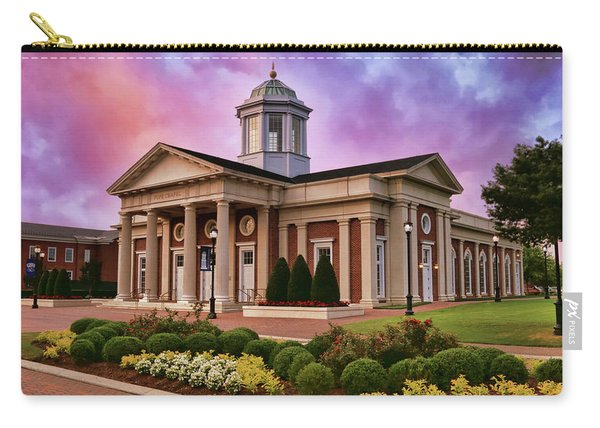 Pope Chapel Under Colorful Sky Carry-all Pouch