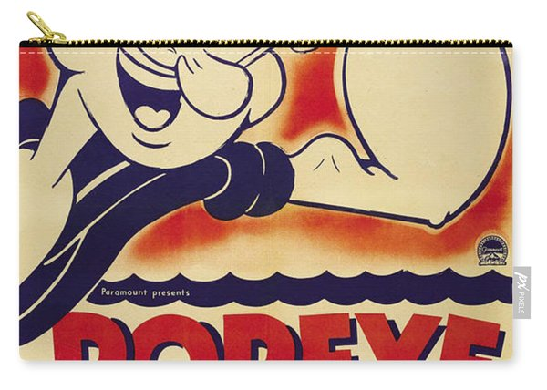 Popeye Technicolor Carry-all Pouch
