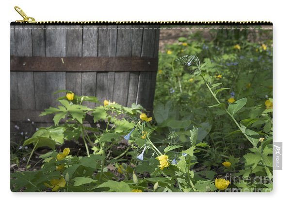 Poppies And Bluebells Carry-all Pouch