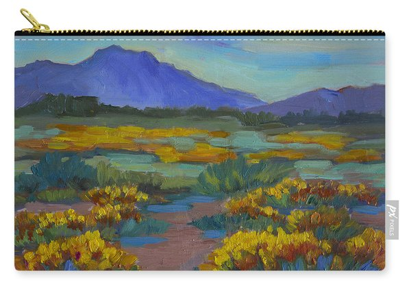 Poppies At San Carlos Carry-all Pouch