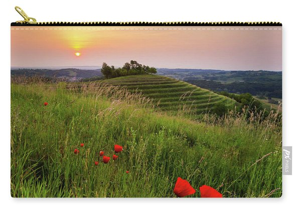 Poppies Burns Carry-all Pouch