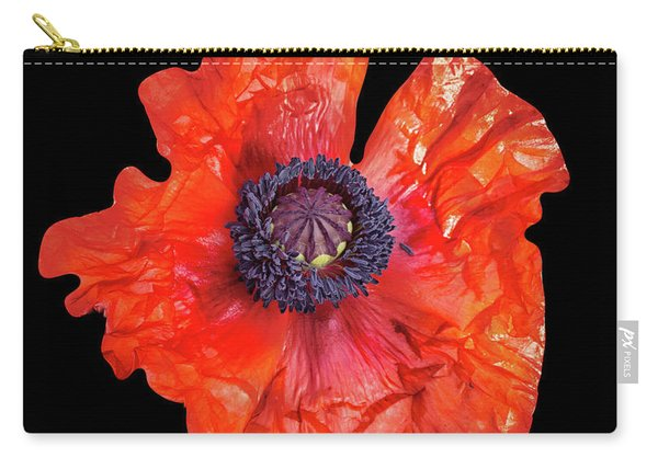 Poppy Details Carry-all Pouch