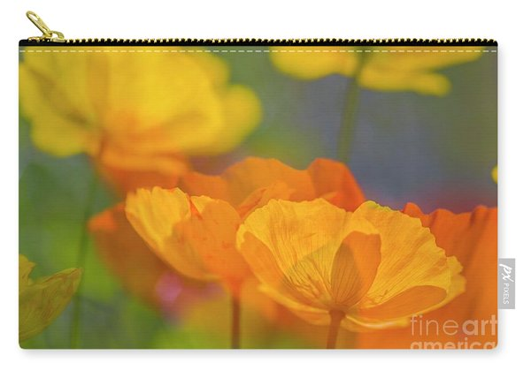 Poppy Dreams Carry-all Pouch