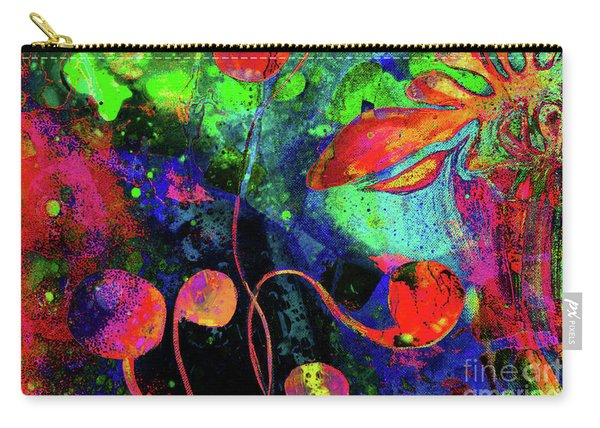 Poppy Enchantment Carry-all Pouch