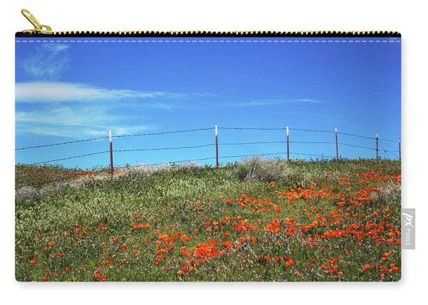 Poppy Hill- Art By Linda Woods Carry-all Pouch