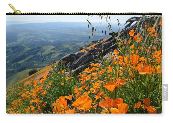 Poppy Mountain  Carry-all Pouch