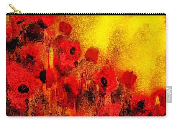 Poppy Reverie Carry-all Pouch