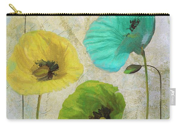 Poppy Shimmer I Carry-all Pouch