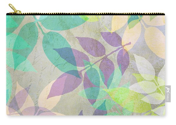 Poppy Shimmer IIi  Carry-all Pouch
