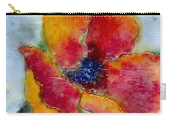 Poppy Smile Carry-all Pouch