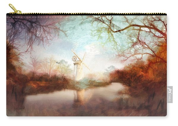 Porcelain Skies Carry-all Pouch