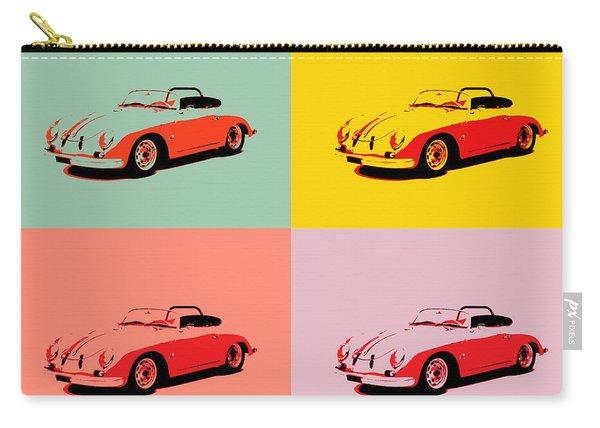 Porsche 356 Pop Art Panels Carry-all Pouch