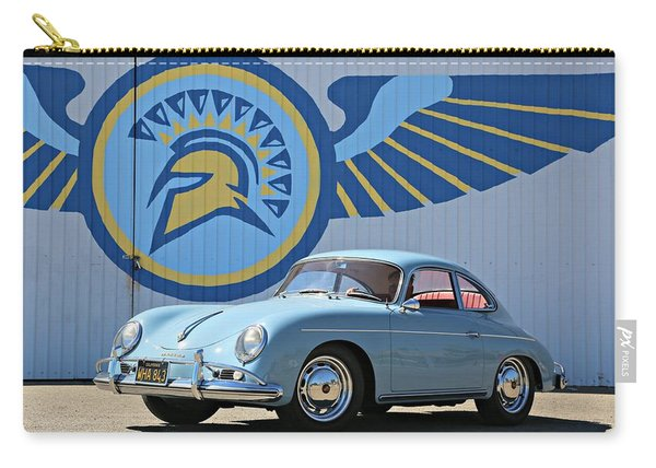 Porsche 356a True Blue Carry-all Pouch
