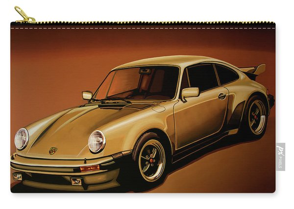 Porsche 911 Turbo 1976 Painting Carry-all Pouch