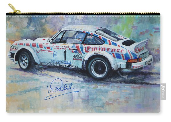 Porsche 911 Sc  Rallye Sanremo 1981 Carry-all Pouch