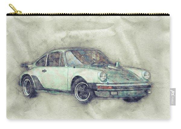 Porsche 911 - Sports Car 1 - Roadster - Automotive Art - Car Posters Carry-all Pouch