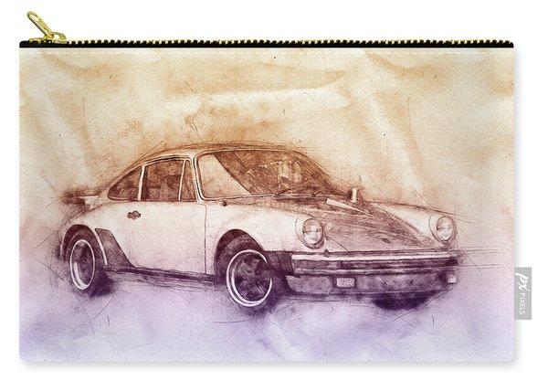 Porsche 911 - Sports Car 2 - Roadster - Automotive Art - Car Posters Carry-all Pouch