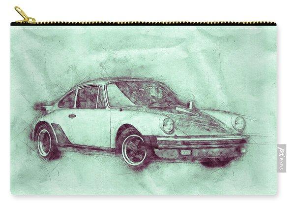 Porsche 911 - Sports Car 3 - Roadster - Automotive Art - Car Posters Carry-all Pouch