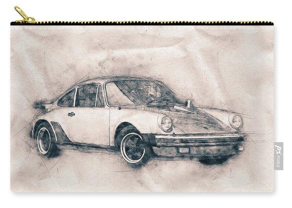 Porsche 911 - Sports Car - Roadster - Automotive Art - Car Posters Carry-all Pouch