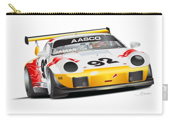 Porsche 911 Turbo Custom Carry-all Pouch