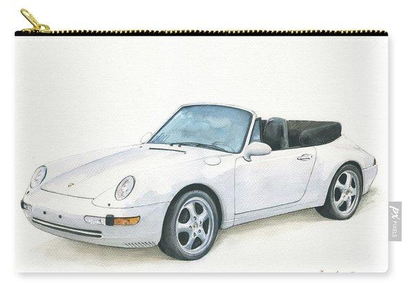 Porsche 993 Cabrio Carry-all Pouch