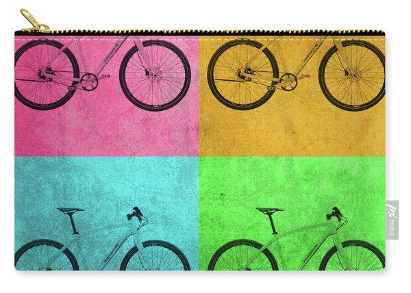 Porsche Bicycle Vintage Pop Art Carry-all Pouch